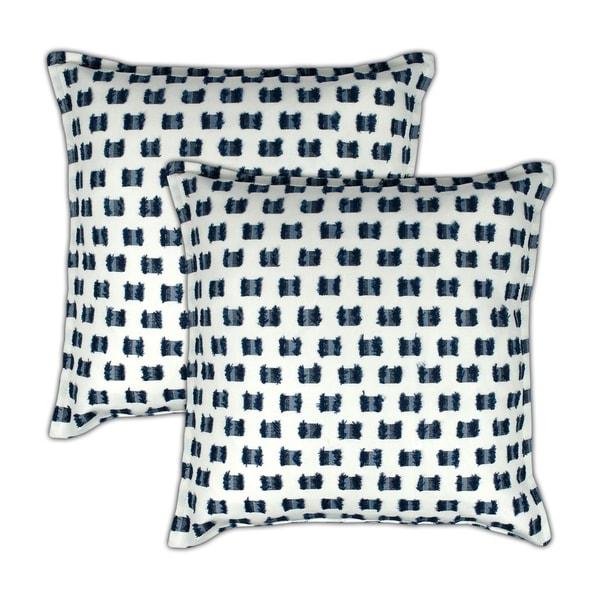 Sherry Kline O'Fifi Indigo 20-inch Decorative Pillow (set of 2)
