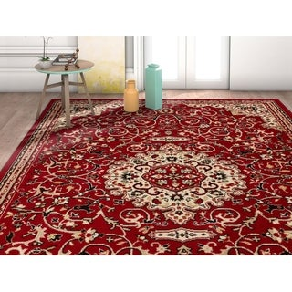 "Well Woven Traditional Medallion Center Area Rug - 3'11"" x 5'3"""