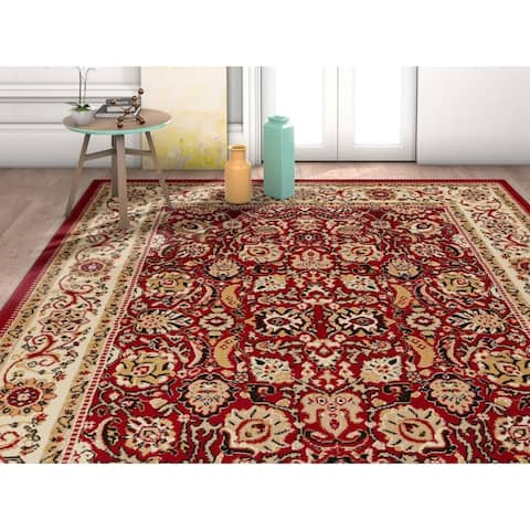 """Well Woven Traditional Oriental French Country Area Rug - 9'3"""" x 12'6"""""""