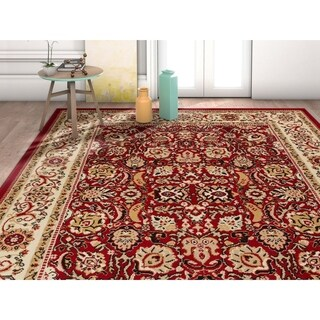 "Well Woven Traditional Oriental French Country Area Rug - 7'10"" x 9'10"""