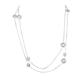 Chopard Chopardissimo White Long Sautoir Necklace
