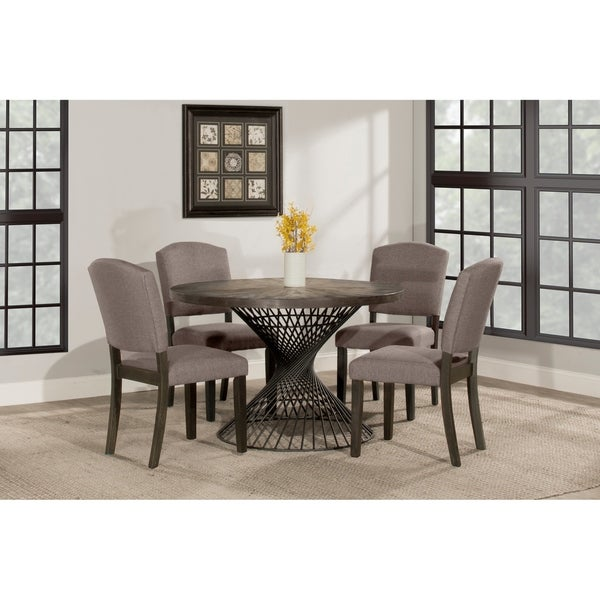 Hillsdale Kanister 5-Piece Round Dining