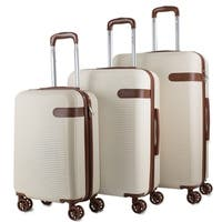 AMKA Classic 3-Piece Expandable Hardside Spinner Luggage Set
