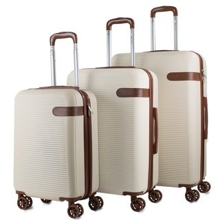 AMKA Classic 3-Piece Expandable Hardside Spinner Luggage Set (4 options available)
