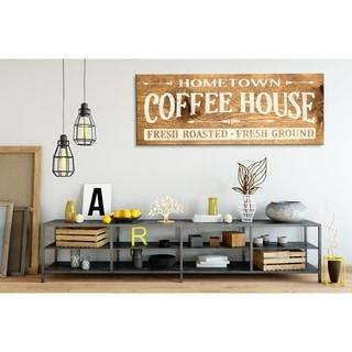 Farmhouse Sign Home Town Coffee House
