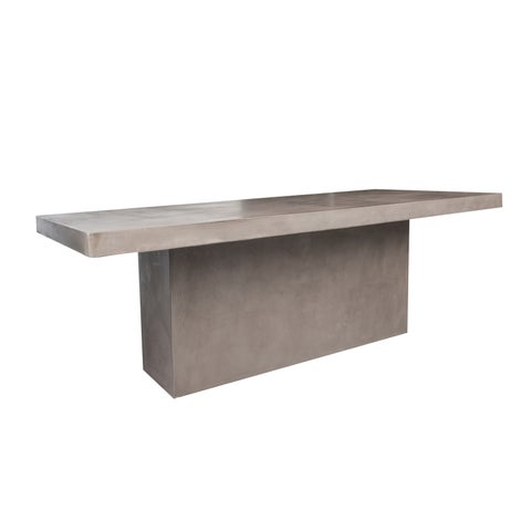 Norway Polished Concrete Outdoor/Indoor Dining Table Concrete