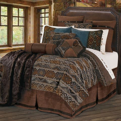 HiEnd Accents Rio Grande Duvet Set, Super Queen