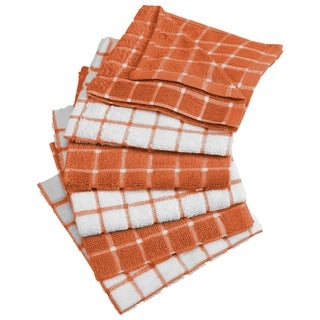 Link to Design Imports Combo Windowpane Terry Dishcloth Set of 6 (12 inches long x 12 inches wide) Similar Items in Cookware