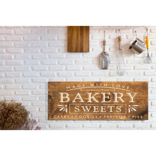 Farmhouse Sign Bakery Sweets