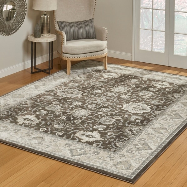 Shop Welton Taupe Area Rug 8 8 Quot X 13 Quot By Gertmenian 9
