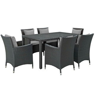 Stopover 7 Piece Outdoor Patio Sunbrella® Dining Set (2 options available)
