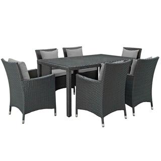 Stopover 7 Piece Outdoor Patio Sunbrella® Dining Set