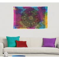 Multi-Color Boho Mandala Hippie Wall Hanging Poster Tapestry Throw Decor - 30x45 inches