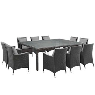 Stopover 11 Piece Outdoor Patio Sunbrella® Dining Set