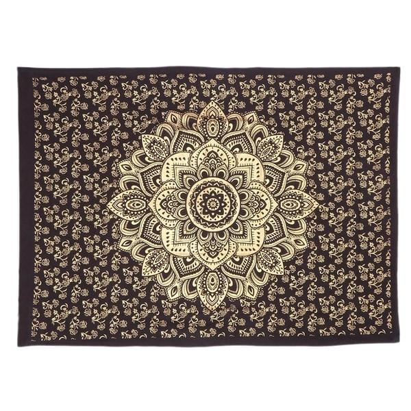 Wall Mandala Poster Indian Hanging Tapestry Decor Cotton Hippie Bohemian