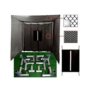 Cimarron Sports 10x10x10 Masters Golf Net with Frame Kit