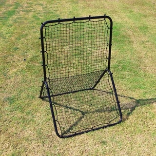 Cimarron Sports Pro Pitchback Net and Frame - Black