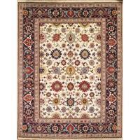 Pasargad NY Mahal Multicolor Wool Handmade Area Rug - 9' x 12'