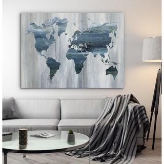 Textural World Map