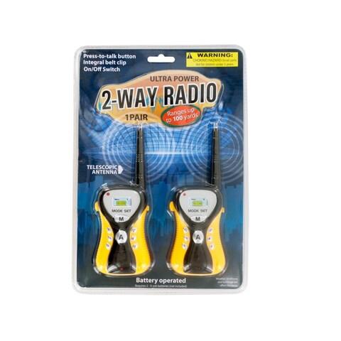Ultra Power Two-Way Radio Set