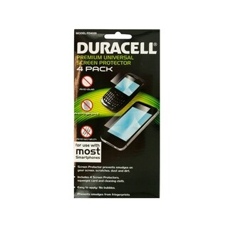 Duracell Universal Smartphone Screen Protector Set