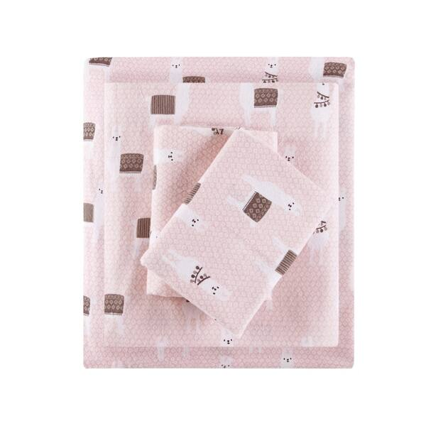 Intelligent Design Cozy Soft Cotton Novelty Print Flannel Sheet Set On Sale Overstock 21733734