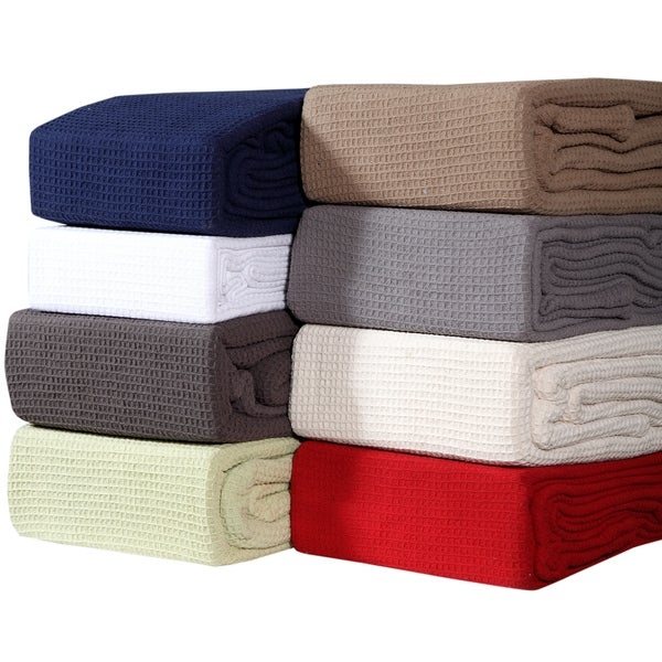 Homeway Decor All Season Cotton Premium Cotton Waffle Blanket