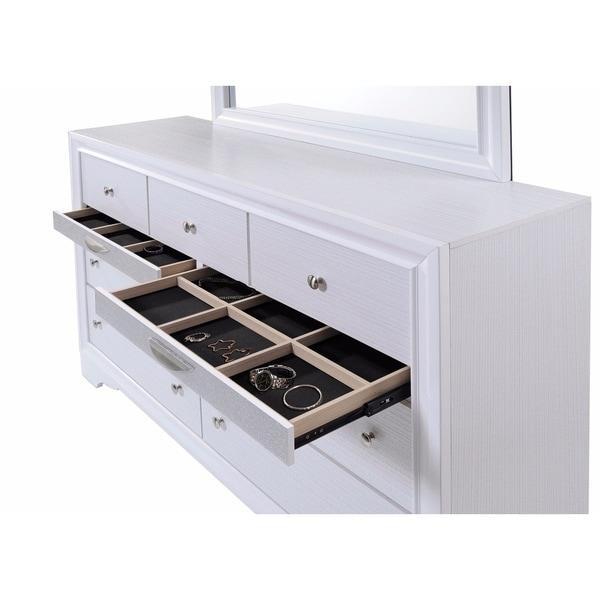 Adolescent Dresser, White