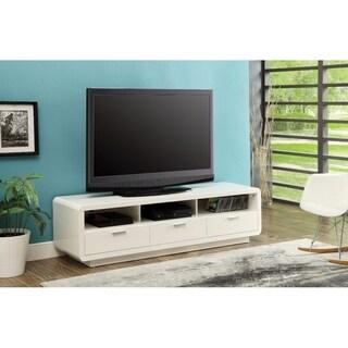 Majestic TV Stand, White