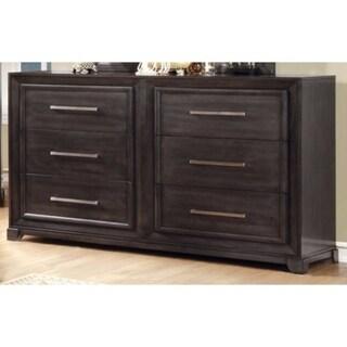 Opulent Glided Dresser, Dark Gray