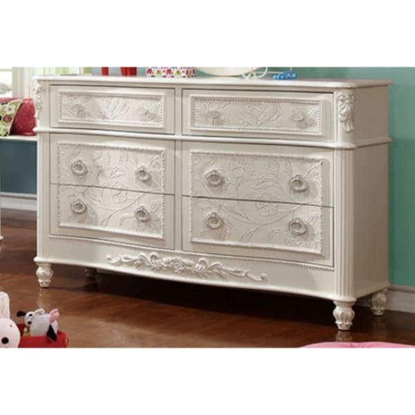 Shop Voguish And Chic Wooden Dresser In Fairy Tale Style
