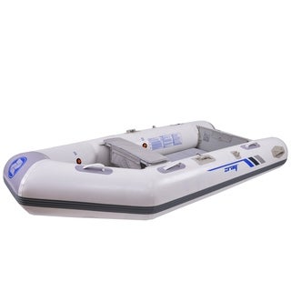 10' Zray Ranger 400 3-Person Inflatable Dinghy Boat with Oars and Pump