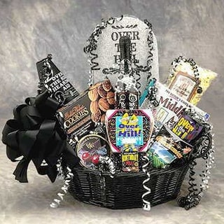 Gift Basket Drop Shipping Over the Hill Birthday Gift Basket - Medium