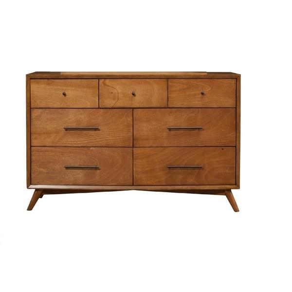 Shop Mid Century Mahogany Wood Dresser Acorn On Sale Free