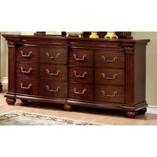 Astonishing Wooden Dresser, Cherry Brown