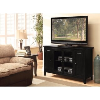 Commodious TV Stand, Black