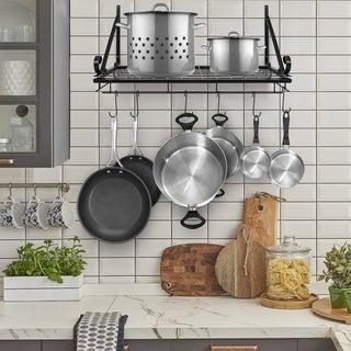 38b3c66cbf Buy Pot Racks Online at Overstock | Our Best Kitchen Storage Deals