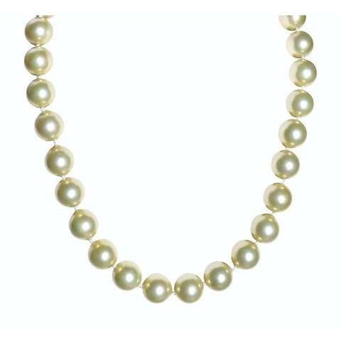 Champagne Mother of Pearl Necklace - 17 Inch