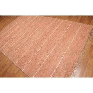 "Modern Trendy Handmade Shag Area Rug (6'5""x9'8"") - 6'5""x9'8"""