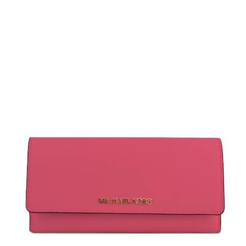 d19144daebbc Michael Kors Flat Trifold Pink Wallet