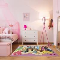 Gertmenian Disney Princess Party Kids' Area Rug (4'6 x 6'6)