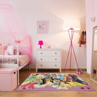 "Princess Party Kids Area Rug (4'6"" x 6'6"") by Gertmenian - 4'6"" x 6'6"""