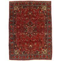 "Pasargad NY Antique Persian Bidjar Red Wool Handmade Rug - 9' X 12'5"""