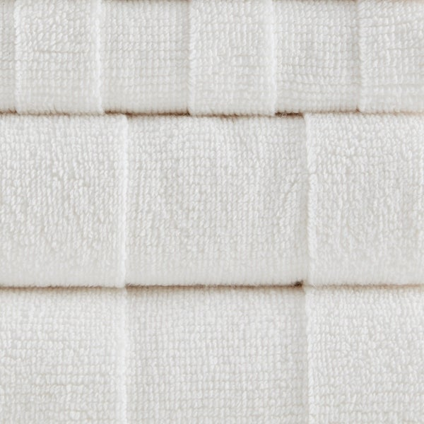 Bamboo and Cotton Natural Elements Dual-Sided Wash Cloths 2pk Deep Exfoliating Wash Cloths