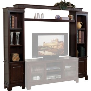 Grand Entertainment Center, Merlot Brown