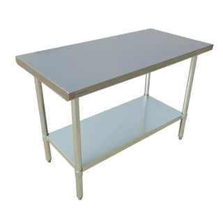 Eq Kitchen Line Stainless Steel Restaurant Prepare Work Surface Table 60 Lx24 Wx34