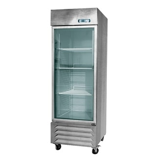 """EQ Kitchen Line SR-23L1G Commercial Refrigerator, 158 gal, 79"""" Height, 31"""" Width, 31"""" Length, Stainless Steel"""