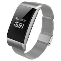 A66 Waterproof Smartband Fitness Tracker Heart Rate Blood Pressure Pedometer
