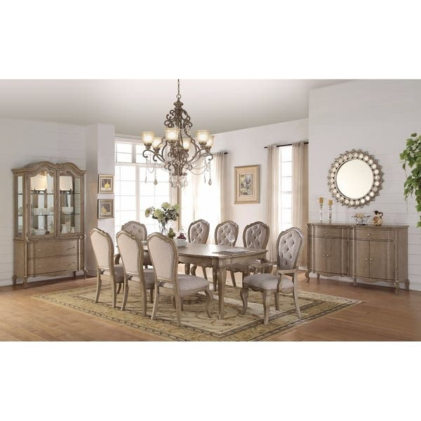 Smart Looking Dining Table Antique Brown On Sale Overstock 21752939