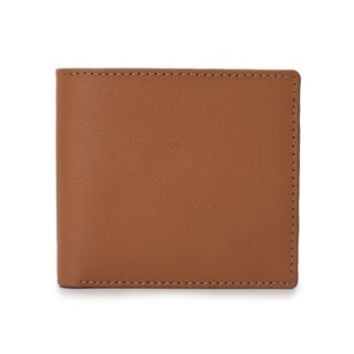 Hand made Phive Rivers Men's Leather Tan Wallet (Italy) - Medium